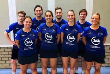 Smashing met 1-7 verlies naar huis vanuit Haarlem na kick-off Nederlandse Badminton Eredivisie