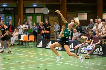 VELO speelt gelijk tegen landskampioen Duinwijck in tweede speelweek Nederlandse Badminton Eredivisie