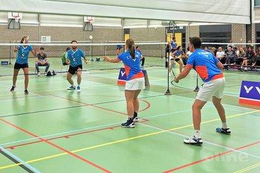 Noord-Hollanders blijven ongeslagen in Nederlandse Badminton Eredivisie