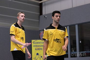 Almere koploper in Nederlandse Badminton Eredivisie