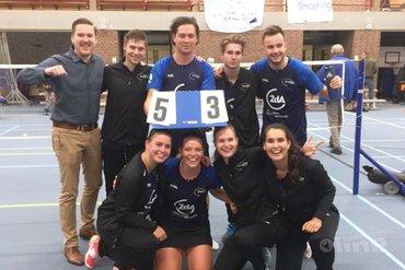 Succesvol dubbelweekend voor Smashing in Nederlandse Badminton Eredivisie