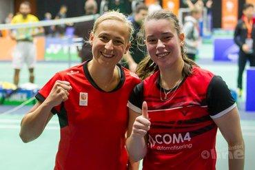 Selena Piek en Cheryl Seinen rondje verder Yonex Dutch Open