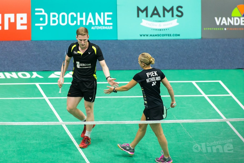 Selena Piek en Robin Tabeling naar halve finales op Yonex Dutch Open
