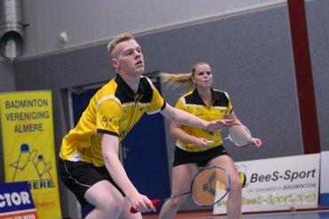 Nederlandse Badminton Eredivisie: Almere nog ongeslagen