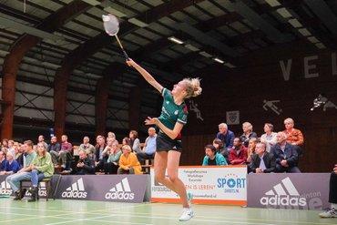 Nederlandse Badminton Eredivisie: VELO verslaat Smashing met grote cijfers
