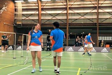 Hoornse bereikt kampioenspoule Nederlandse Badminton Eredivisie