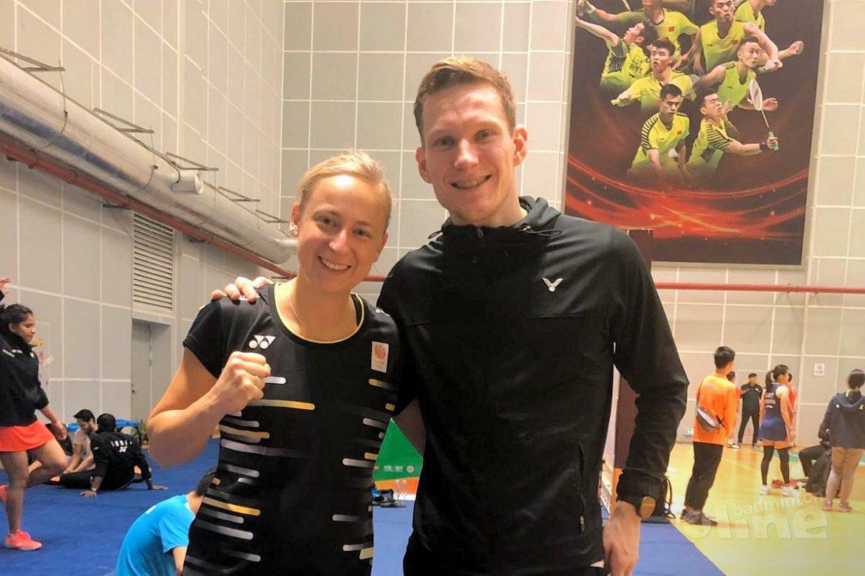 Tweede ronde Fuzhou China Open voor Robin Tabeling en Selena Piek