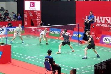 Jelle Maas en Robin Tabeling uitgeschakeld bij DAIHATSU Indonesia Masters 2020