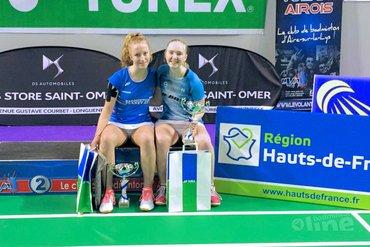 Kirsten de Wit en Iris van Leijsen winnen Yonex France U17 Open 2020
