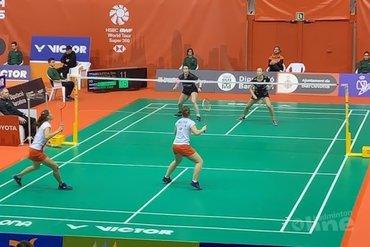 Kwartfinales voor Selena Piek en Cheryl Seinen bij Spain Masters 2020
