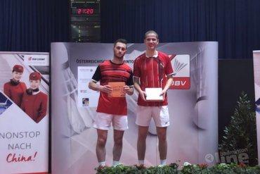 Tweede plaats Austrian Open voor koppel Ruben Jille en Ties van der Lecq