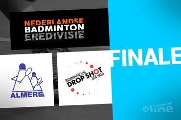 Finale Landskampioenschap Nederlandse Badminton Eredivisie op zaterdag 7 maart 2020 in de Maaspoort in Den Bosch