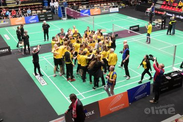 Almere pakt eerste titel in finale van Nederlandse Badminton Eredivisie