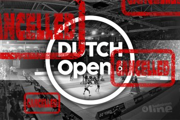 Badminton Nederland annuleert Dutch Open 2020