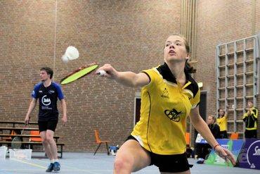 Nederlandse Badminton Eredivisie: Ook Smashing ten onder tegen Almere