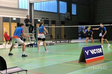 Smashing verliest inhaalwedstrijd van Hoornse badmintonners
