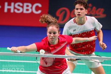 Ties van der Lecq en Debora Jille naar achtste finales Denmark Open 2020