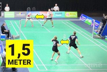 Badmintonprotocol Badminton Nederland: dubbelen liever niet! (UPDATE)