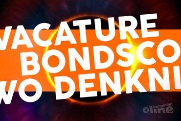Vacature: Bondscoach Singelaars Badminton Nederland