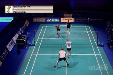 Vijf kwartfinales voor Nederlanders in badmintontoernooi SaarLorLux Open 2020