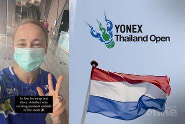 Nederlandse badmintonners starten Thailand Open 2021 in quarantainebubbel