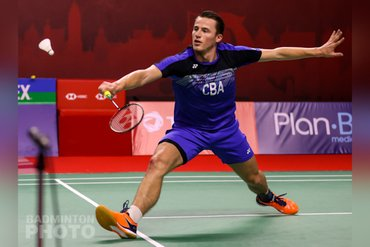 Topbadmintonner Mark Caljouw week in quarantaine voor 39 minuten topbadminton