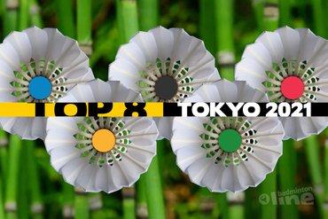 Update Topbadminton: top 8 plek in Tokio als doel