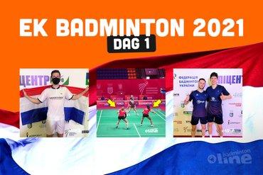 Driemaal winst op Koningsdag voor badmintonners in Kiev