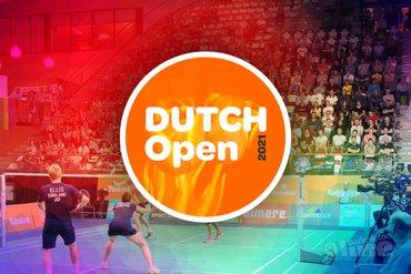 Kaarten te koop voor Dutch Open in Topsportcentrum Almere