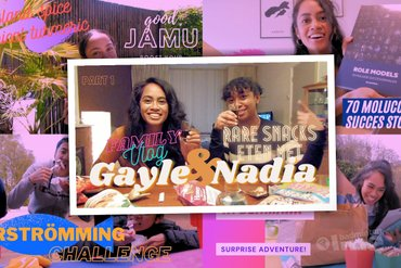Gekke dingen eten met badmintonner Gayle Mahulette