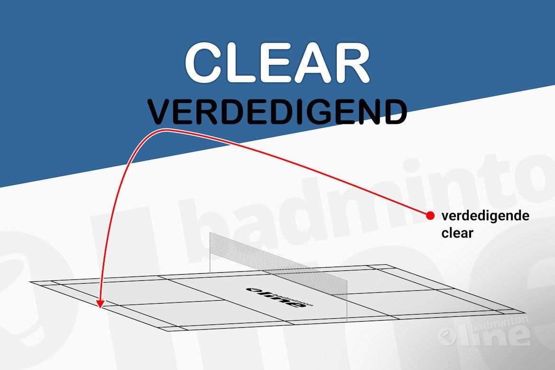Wat is een verdedigende clear?
