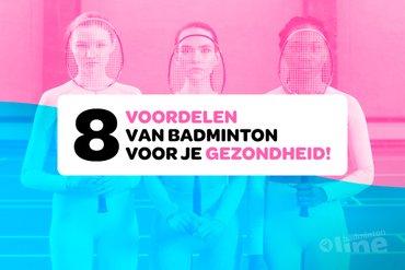 Wil je een betere gezondheid? Ga badmintonnen!