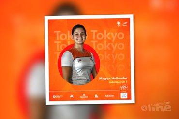 Voorbeschouwing parabadmintonner Megan Hollander tijdens Paralympische Spelen