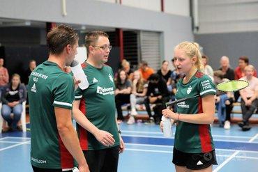 VELO na eerste speelronde Nederlandse Badminton Eredivisie op zesde plaats