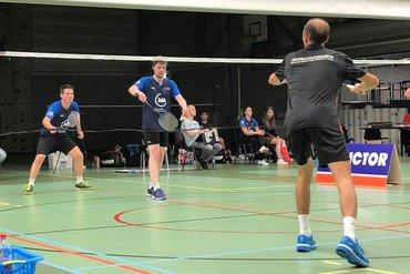Smashing pakt eerste punten in tweede ronde Nederlandse Badminton Eredivisie