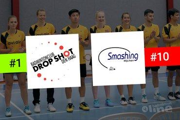 Drop Shot en Smashing elkaars tegenpolen in Nederlandse Badminton Eredivisie