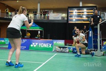 Nederlandse vrouwendubbels naar kwartfinales op Yonex Dutch Open