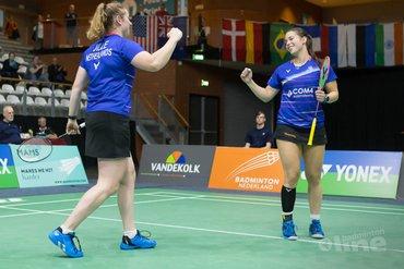 Vrouwendubbel Debora Jille en Cheryl Seinen stunt met finaleplek op Yonex Dutch Open