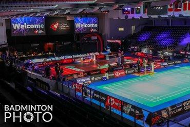 Klein contingent Nederlandse badmintonners bij Denmark Open 2021