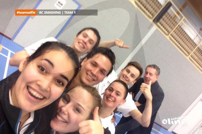 Smashing rest nog een zware hindernis na krappe winst in Groningen - badmintonline