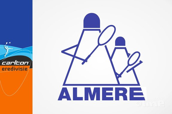 Almere thuis tegen Amersfoort, uit tegen DKC - BV Almere