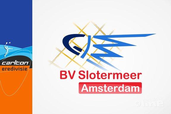 Deze afbeelding hoort bij 'Slotermeer haalt gelijkspel op in Wateringen' en is gemaakt door BV Slotermeer