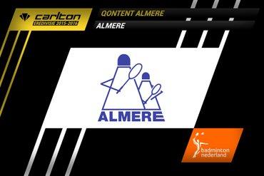 Tweede kwartfinalewedstrijd: Almere tegen Victoria