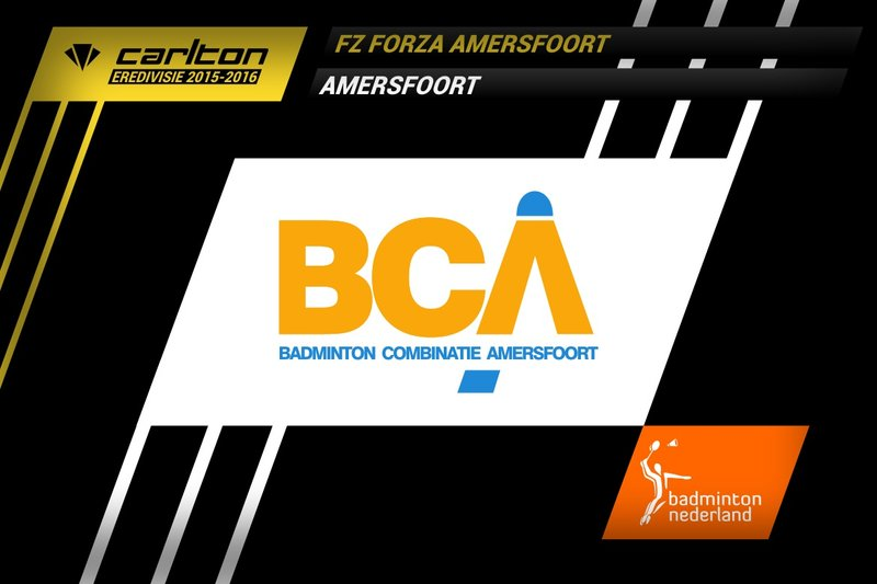 Eerste verlies in Carlton Eredivisie 2015-2016 voor Amersfoort - badmintonline.nl