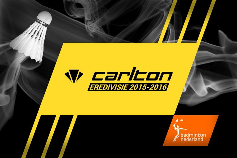 Zaterdag 23 januari speelronde 5 van de Carlton Eredivisie degradatiepoule - badmintonline.nl
