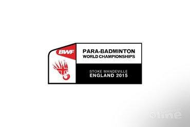 Eddy Boerman doet mee aan de Para-Badminton World Championships 2015