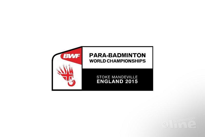 Eddy Boerman doet mee aan de Para-Badminton World Championships 2015 - BWF