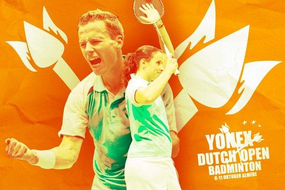 Bedrijventoernooi tijdens de Yonex Dutch Open 2015 - René Lagerwaard / badmintonline.nl