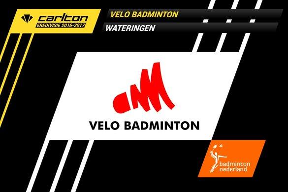 VELO blijft lijstaanvoerder in Carlton Eredivisie 2016-2017 - badmintonline.nl