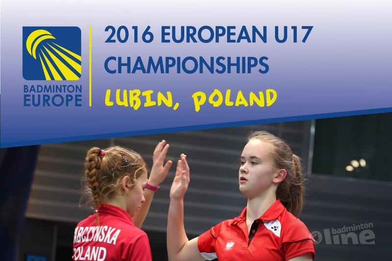 België verliest eerste groepsmatch op EK badminton U17 - Badminton Europe